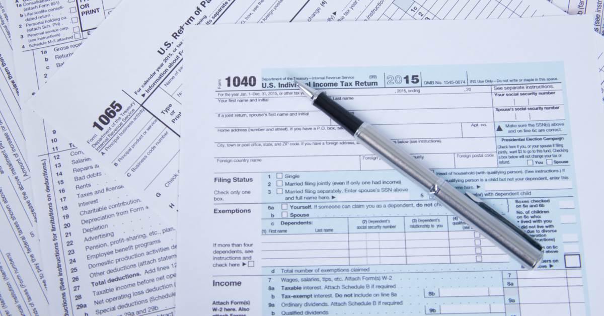 Belastingformulieren