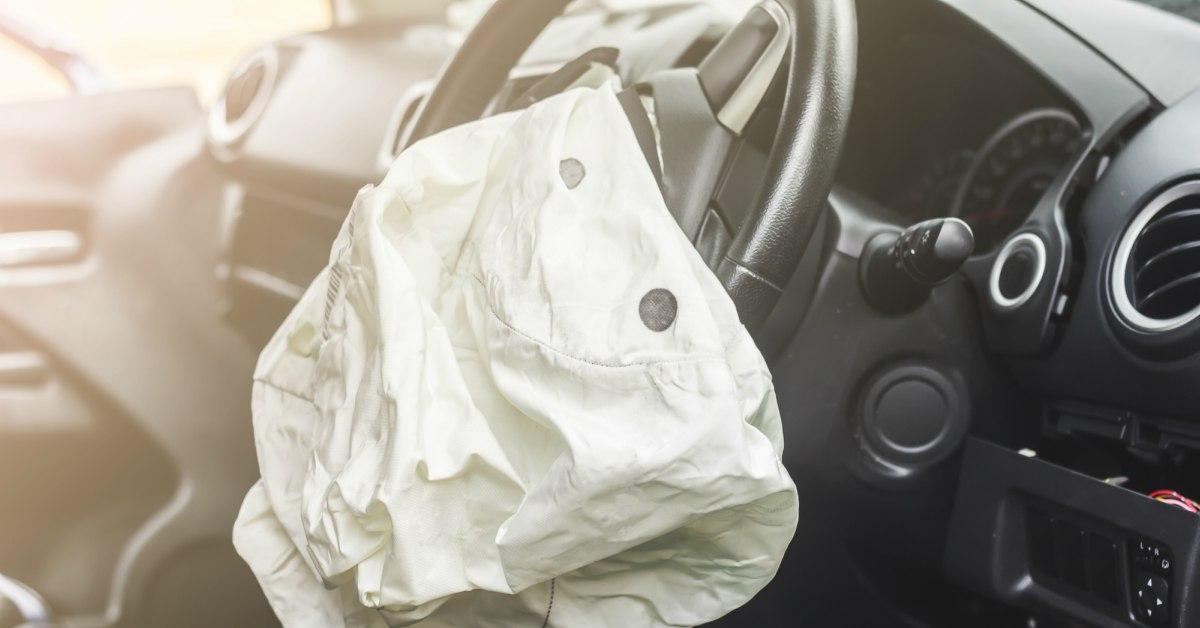 Ontplofte airbag