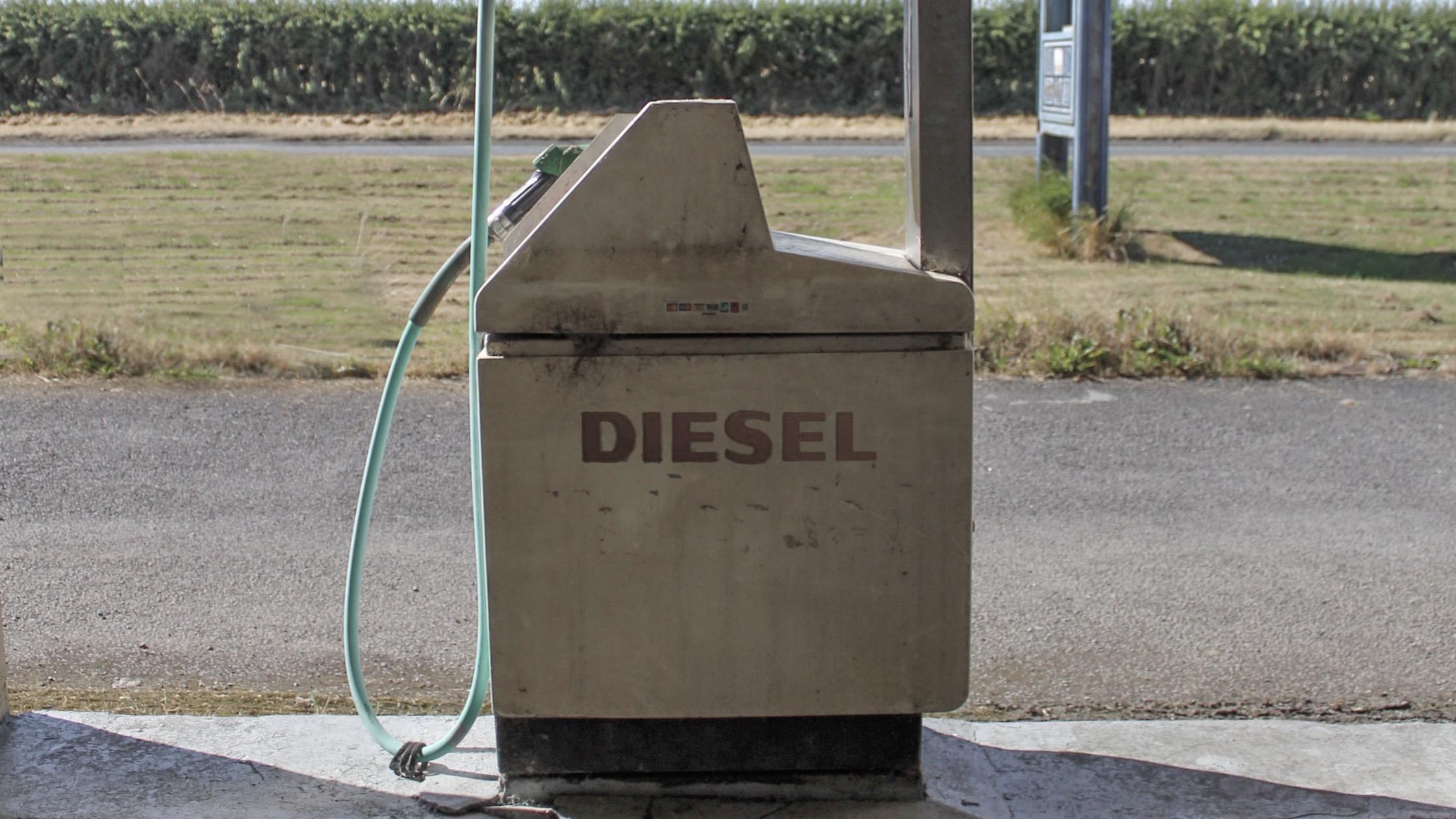 Diesel benzine station